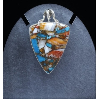 Real butterfly opalturquoise quartz necklace