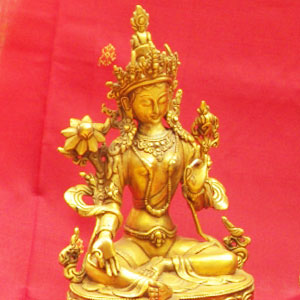 Dimple's Imports India Style Brass Statues